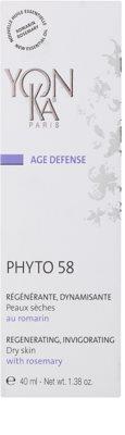 Yon-Ka Age Defense Phyto 58 regenerierende Nachtcreme mit belebender Wirkung für trockene Haut 2