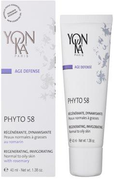 Yon-Ka Age Defense Phyto 58 regenerační noční krém s povzbuzujícím účinkem pro normální až mastnou pleť 1