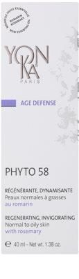 Yon-Ka Age Defense Phyto 58 regenerační noční krém s povzbuzujícím účinkem pro normální až mastnou pleť 2