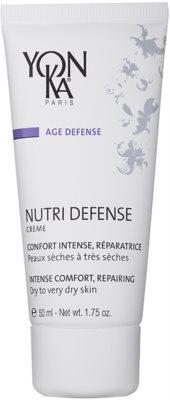 Yon-Ka Age Defense Nutri crema intensiv regeneratoare uscata si foarte uscata