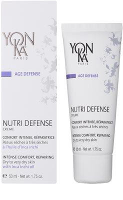 Yon-Ka Age Defense Nutri intenzivní obnovující krém pro suchou až velmi suchou pleť 1