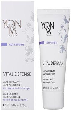 Yon-Ka Age Defense Vital intensive feuchtigkeitsspendende Tagescreme mit Antioxidant-Wirkung 1
