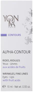 Yon-Ka Contours Alpha erneuerndes Gel gegen Falten für Augen - und Lippenkonturen 2
