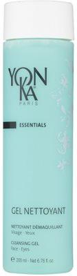 Yon-Ka Essentials arctisztító és szemfestéklemosó gél az arcra és a szemekre