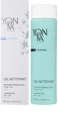 Yon-Ka Essentials Gel demachiant pe fata si ochi 1