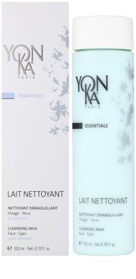 Yon-Ka Essentials Reinigungs - und Abschminkmilch für Gesicht und Augen 1