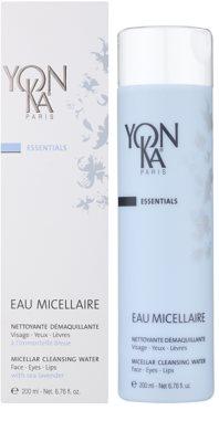 Yon-Ka Essentials Apa micela cu efect de curatare si indepartare a machiajului 1