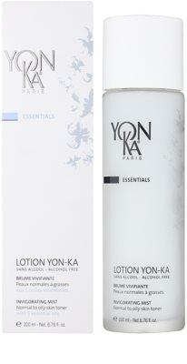 Yon-Ka Essentials revitalizáló permet alkohol nélkül normál és zsíros bőrre 2