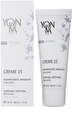 Yon-Ka Specifics crema calmanta pentru pielea cu imperfectiuni 1