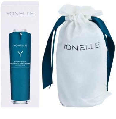 Yonelle Biofusion 3C creme de olhos para cuidado integral antirrugas e anti-olheiras 1