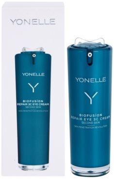Yonelle Biofusion 3C creme de olhos para cuidado integral antirrugas e anti-olheiras 2