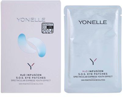 Yonelle H2O Infusion SOS маска для шкіри навколо очей з ліфтинговим ефектом 2