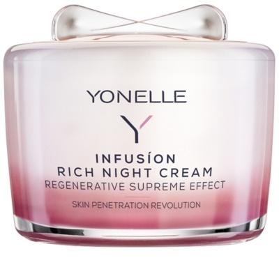 Yonelle Infusion crema de noapte nutritiva efect regenerator