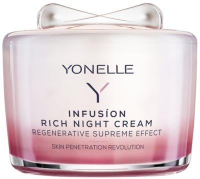 Yonelle Infusion tápláló éjszakai krém regeneráló hatással