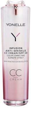 Yonelle Infusion CC krém s protivráskovým účinkem SPF 10