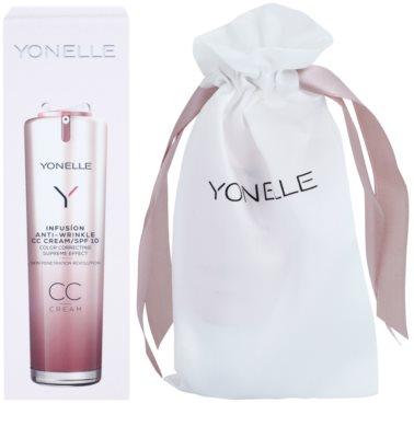 Yonelle Infusion CC creme com efeito antirrugas SPF 10 1