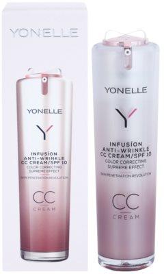 Yonelle Infusion CC creme com efeito antirrugas SPF 10 2