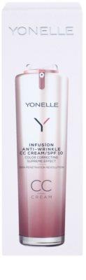 Yonelle Infusion CC creme com efeito antirrugas SPF 10 3