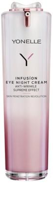 Yonelle Infusion crema de noche antiarrugas  para contorno de ojos