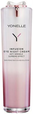 Yonelle Infusion creme de noite antirrugas para o contorno dos olhos