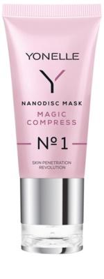 Yonelle Nanodisc Mask Magic Compress N° 1 intensive Maske für sofortige Verbesserung des Aussehens der Haut 40+