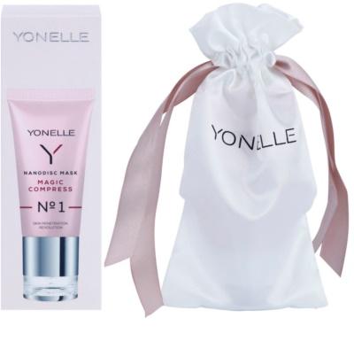Yonelle Nanodisc Mask Magic Compress N° 1 intensive Maske für sofortige Verbesserung des Aussehens der Haut 40+ 1
