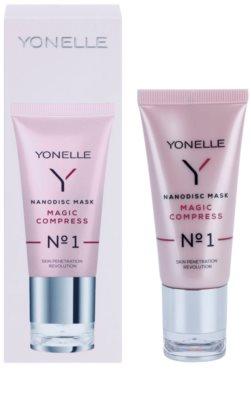 Yonelle Nanodisc Mask Magic Compress N° 1 intensive Maske für sofortige Verbesserung des Aussehens der Haut 40+ 2