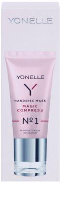 Yonelle Nanodisc Mask Magic Compress N° 1 intensive Maske für sofortige Verbesserung des Aussehens der Haut 40+ 3