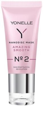 Yonelle Nanodisc Mask Amazing Smooth N° 2 mascarilla de noche intensa para la regeneración rápida de la piel seca y deshidratada 40+