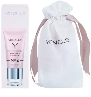 Yonelle Nanodisc Mask Amazing Smooth N° 2 intensive Nacht-Maske für schnelle Regeneration trockener und dehydrierter Haut 40+ 1