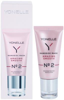 Yonelle Nanodisc Mask Amazing Smooth N° 2 intensive Nacht-Maske für schnelle Regeneration trockener und dehydrierter Haut 40+ 2