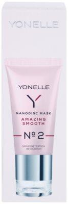 Yonelle Nanodisc Mask Amazing Smooth N° 2 intensive Nacht-Maske für schnelle Regeneration trockener und dehydrierter Haut 40+ 3