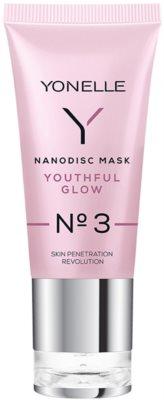 Yonelle Nanodisc Mask Youthful Glow N° 3 gel-crema intensa para refrescar la piel 40+