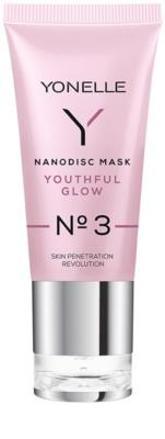 Yonelle Nanodisc Mask Youthful Glow N° 3 máscara intensiva de gel para refrescar a pele 40+