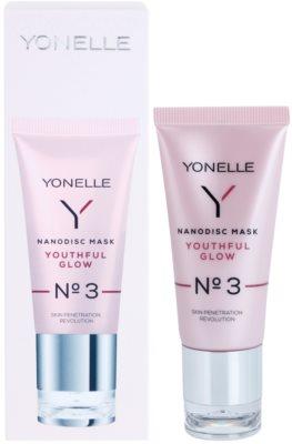 Yonelle Nanodisc Mask Youthful Glow N° 3 maska nanodyskowa N°3 młodzieńczy blask 2