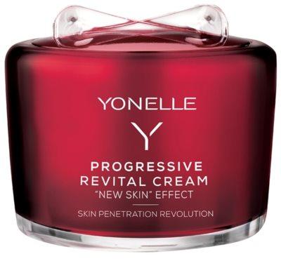 Yonelle Progressive creme de rosto revitalizante com efeito antirrugas