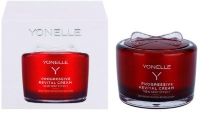 Yonelle Progressive відновлюючий крем для шкіри обличчя проти розтяжок та зморшок 3
