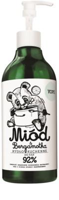 Yope Honey & Bergamot prírodné kuchynské mydlo na ruky