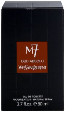Yves Saint Laurent La Collection M7 Oud Absolu Eau de Toilette für Herren 4