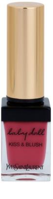 Yves Saint Laurent Baby Doll Kiss & Blush Lippenstift und Rouge alles in einem