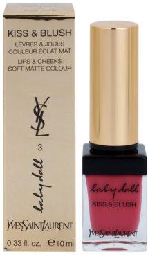 Yves Saint Laurent Baby Doll Kiss & Blush Lippenstift und Rouge alles in einem 1