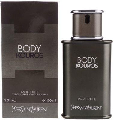 Yves Saint Laurent Body Kouros Eau de Toilette para homens