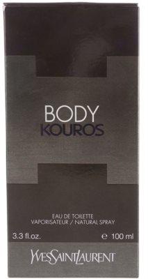 Yves Saint Laurent Body Kouros Eau de Toilette para homens 4
