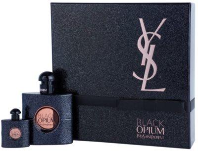 Yves Saint Laurent Black Opium set cadou