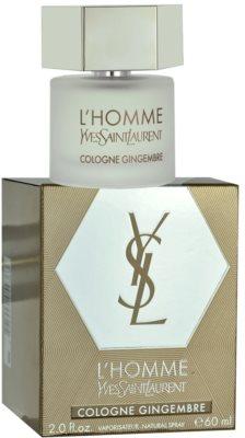 Yves Saint Laurent L´Homme Cologne Gingembre kolonjska voda za moške
