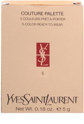 Yves Saint Laurent Couture Palette sombras 3