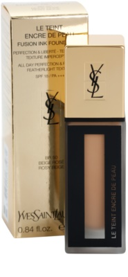 Yves Saint Laurent Encre De Peau легкий матуючий тональний крем SPF 18 1