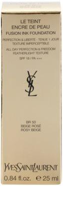 Yves Saint Laurent Encre De Peau легкий матуючий тональний крем SPF 18 3