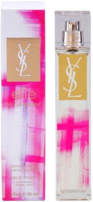 Yves Saint Laurent Elle Limited Edition eau de toilette nőknek