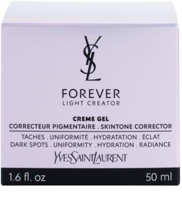 Yves Saint Laurent Forever Light Creator feuchtigkeitsspendende Gel-Creme für alle Hauttypen 4